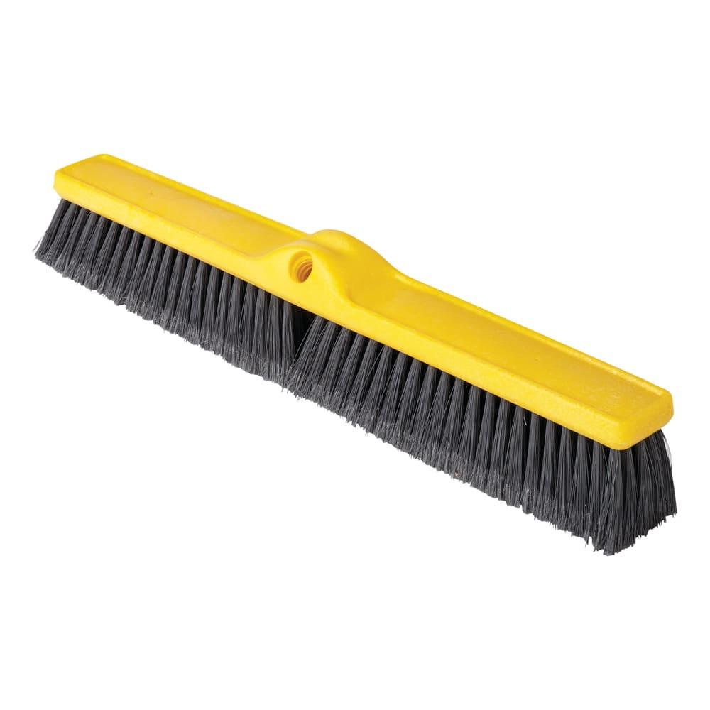 "Rubbermaid FG9B1100GRAY 24"" Floor Sweep - Medium, Plastic/Poly, Gray"