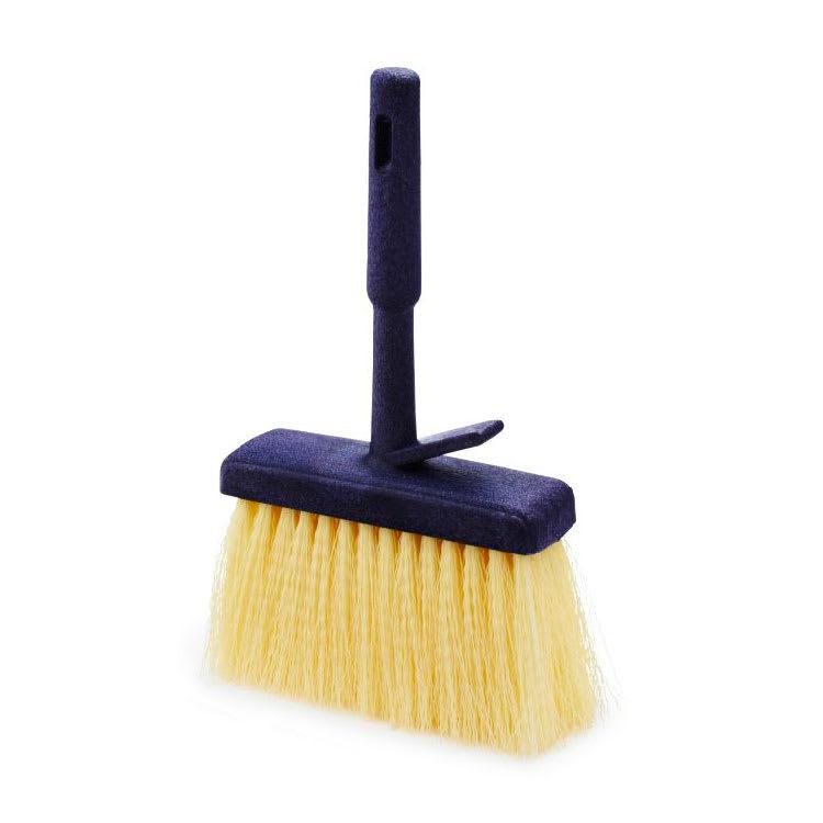 "Rubbermaid FG9B5000 YEL 11"" Masonry Brush - Plastic Handle, Synthetic Fill, Yellow"