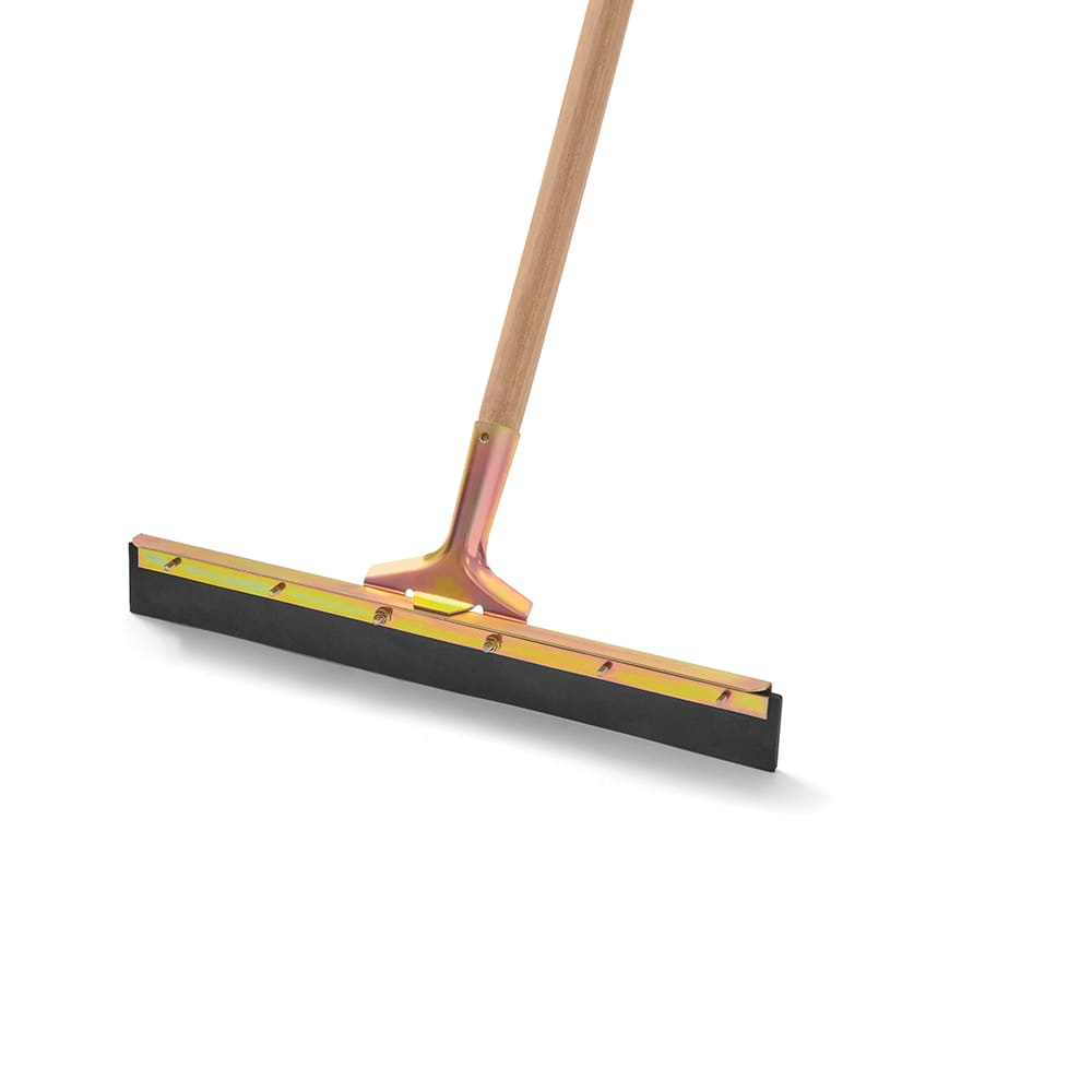 "Rubbermaid FG9C3100BLA 18"" Traditional Floor Squeegee - 2"" Rubber Blade, Black"