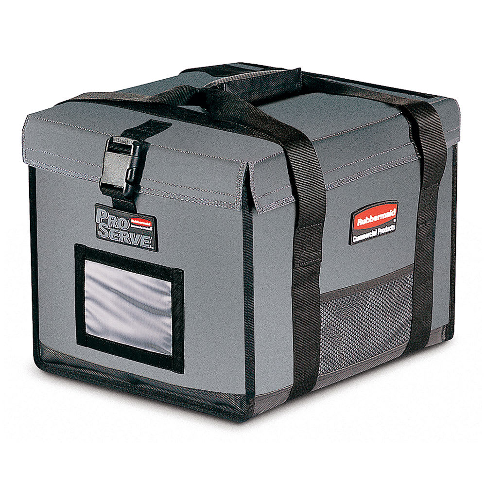 "Rubbermaid FG9F1500CGRAY ProServe Insulated Carrier - 19x16-3/4x15"", Cool Gray"