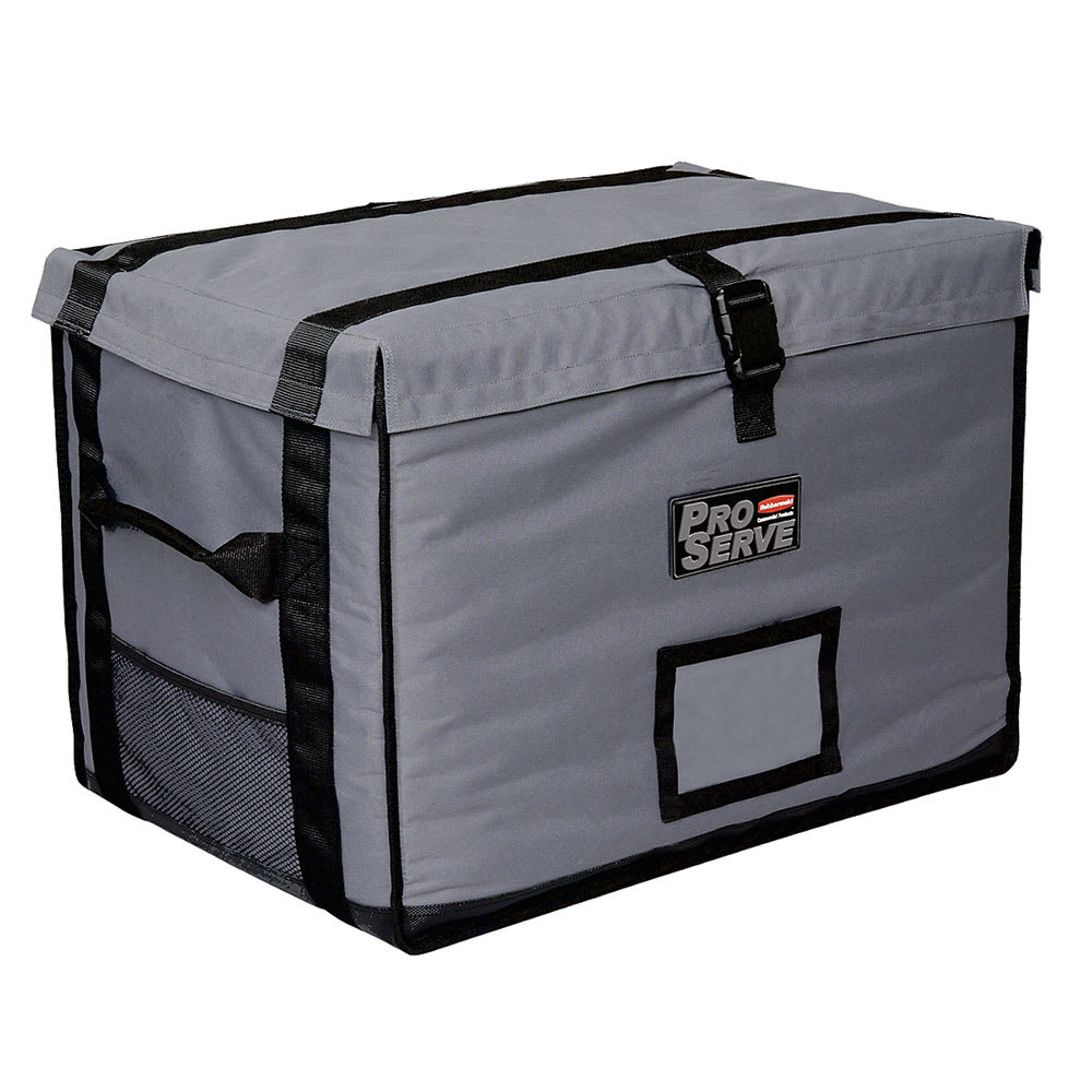"Rubbermaid FG9F1600CGRAY ProServe Insulated Carrier - 28x19-1/4x19-1/2"", Cool Gray"