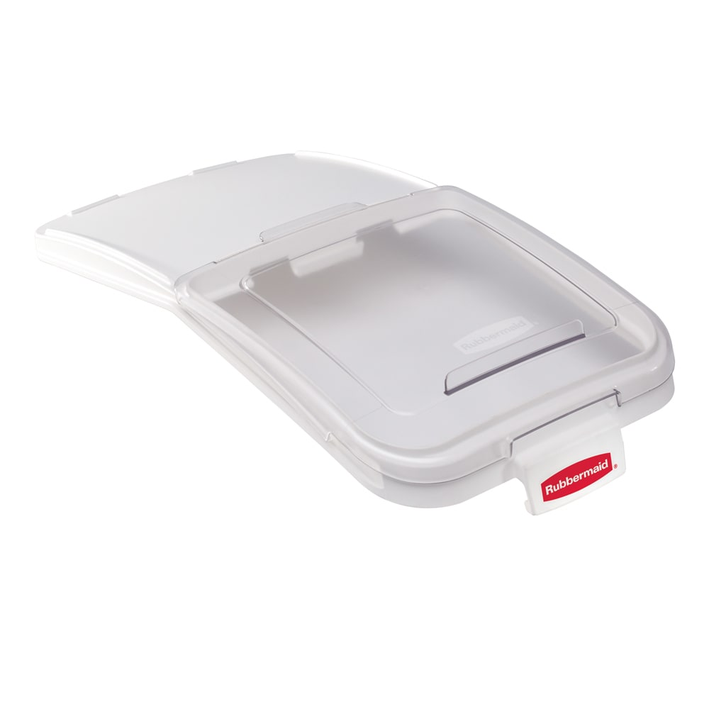 "Rubbermaid FG9F7800CLR ProSave Ingredient Bin Lid with 32 oz Scoop - 29x14 1/2"" Clear"