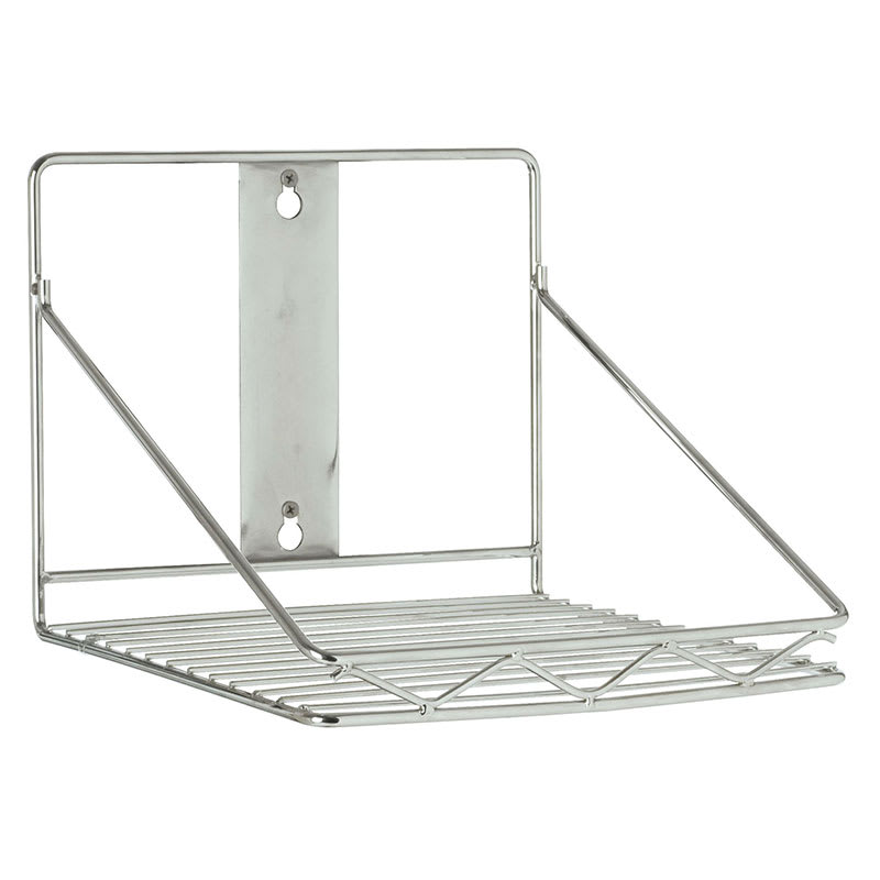 """Rubbermaid FG9G8100 10.5"""" Wire Wall Mounted Shelving"""