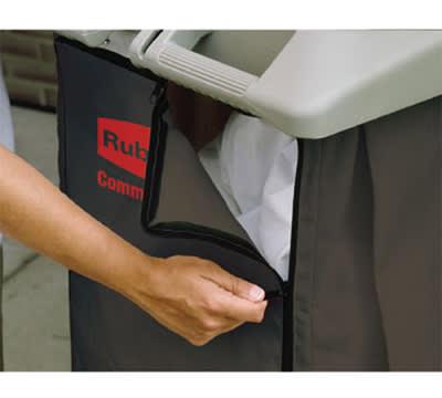 Rubbermaid FG9T0400 BRN Canvas Linen Accessory Bag, Brown
