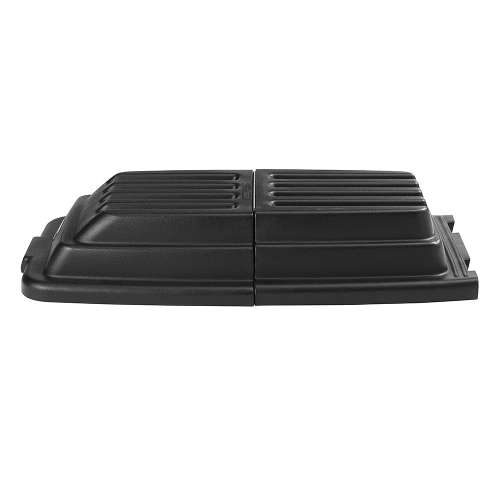 Rubbermaid FG9T2200 BLA Domed Tilt Truck Lid for FG9T1300 & FG9T1400, Black