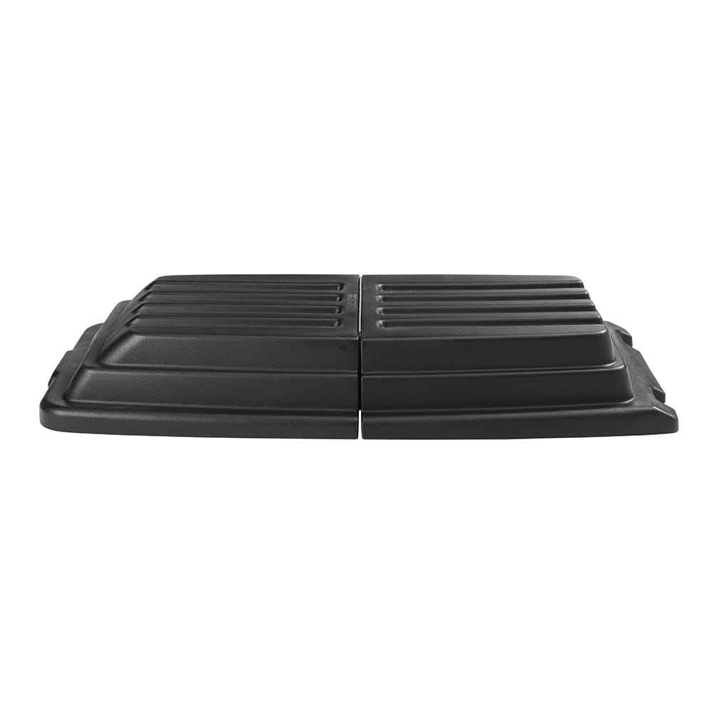 Rubbermaid FG9T2300 BLA Domed Tilt Truck Lid for FG9T1500 & FG9T1600, Black
