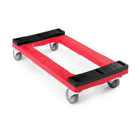 Rubbermaid FG9T5500 RED Dolly for General Purpose w/ 1000 lb Capacity