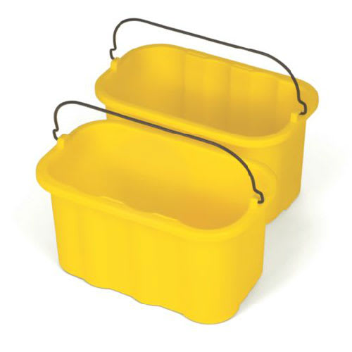 Rubbermaid FG9T8200 YEL 10 qt Sanitizing Caddy Replacement - Yellow