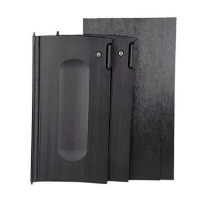 Rubbermaid FG9T8500 BLA Locking Cabinet Door Kit for 9T85, Black
