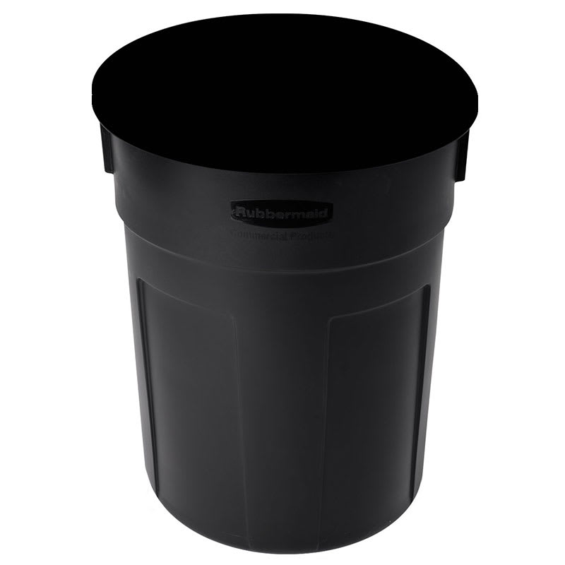 Rubbermaid FG9W1200 BLA 32 gal Atrium Container Base - Black