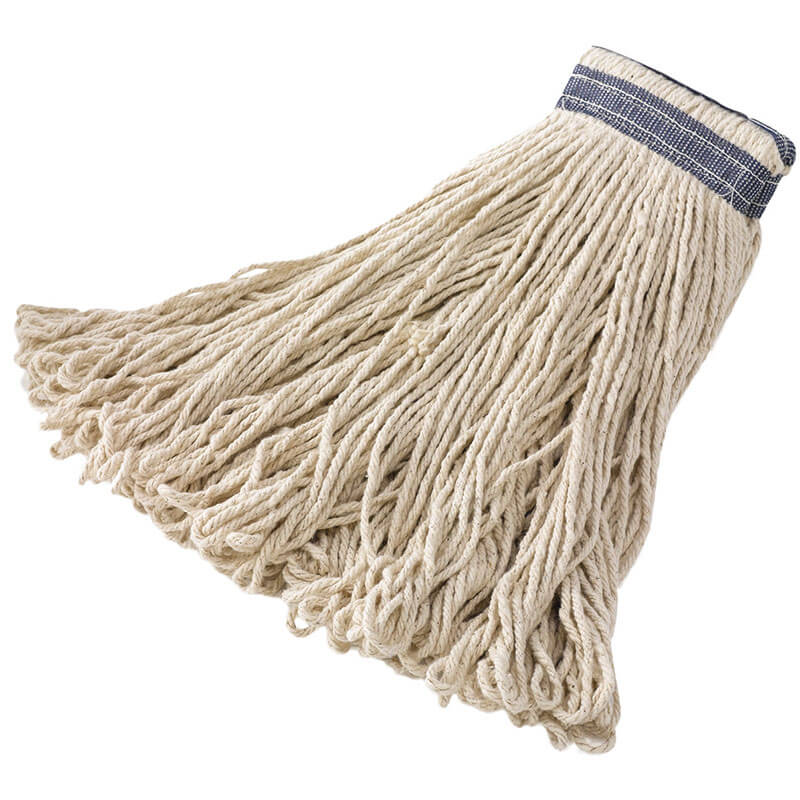 Rubbermaid FGE13900WH00 32 oz Looped-End Mop Head - Cotton, White