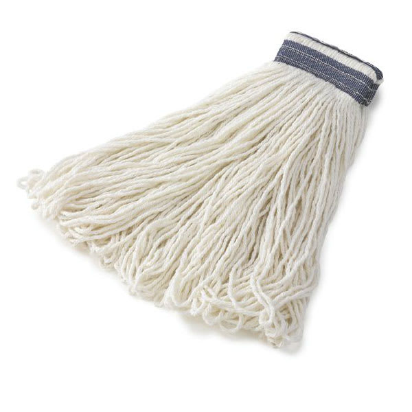 Rubbermaid FGE43600WH00 16 oz Looped-End Mop Head - Rayon, White