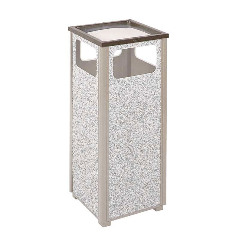 Rubbermaid FGHTA1ABZ Trash Can Top Cigarette Receptacle - Outdoor Rated