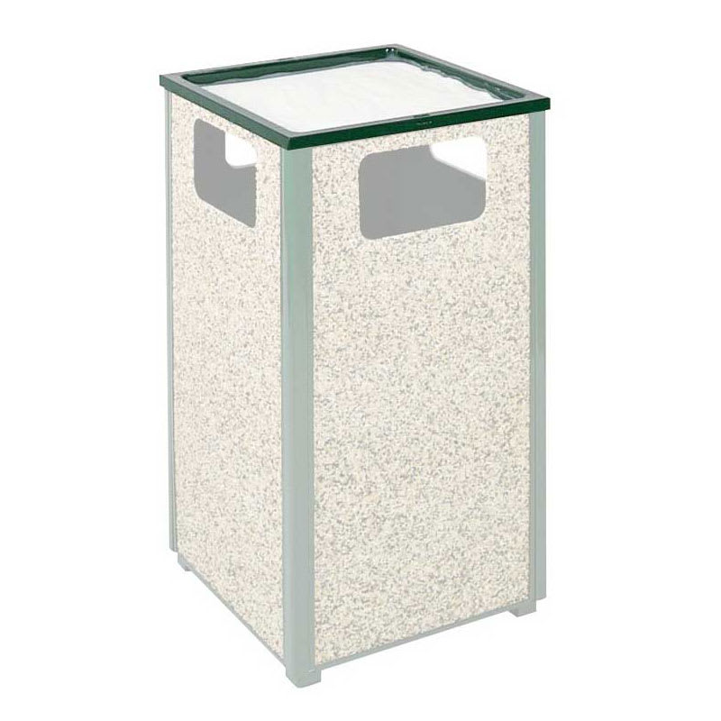Rubbermaid FGHTA2EGN Trash Can Top Cigarette Receptacle - Outdoor Rated