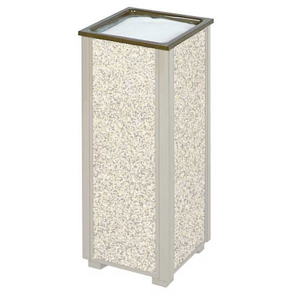 Rubbermaid FGHTABR Trash Can Top Cigarette Receptacle - Outdoor Rated