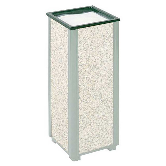 Rubbermaid FGHTASGR Trash Can Top Cigarette Receptacle - Outdoor Rated