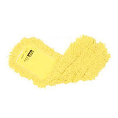 "Rubbermaid FGJ25800YL00 Dust Mop - 60x5"" Slip-On/Slip-Through Backing, Yellow"