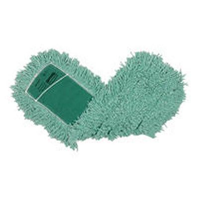 """Rubbermaid FGJ55800GR00 Dust Mop - 60x5"""" Slip-On/Slip-Through Backing, Green"""