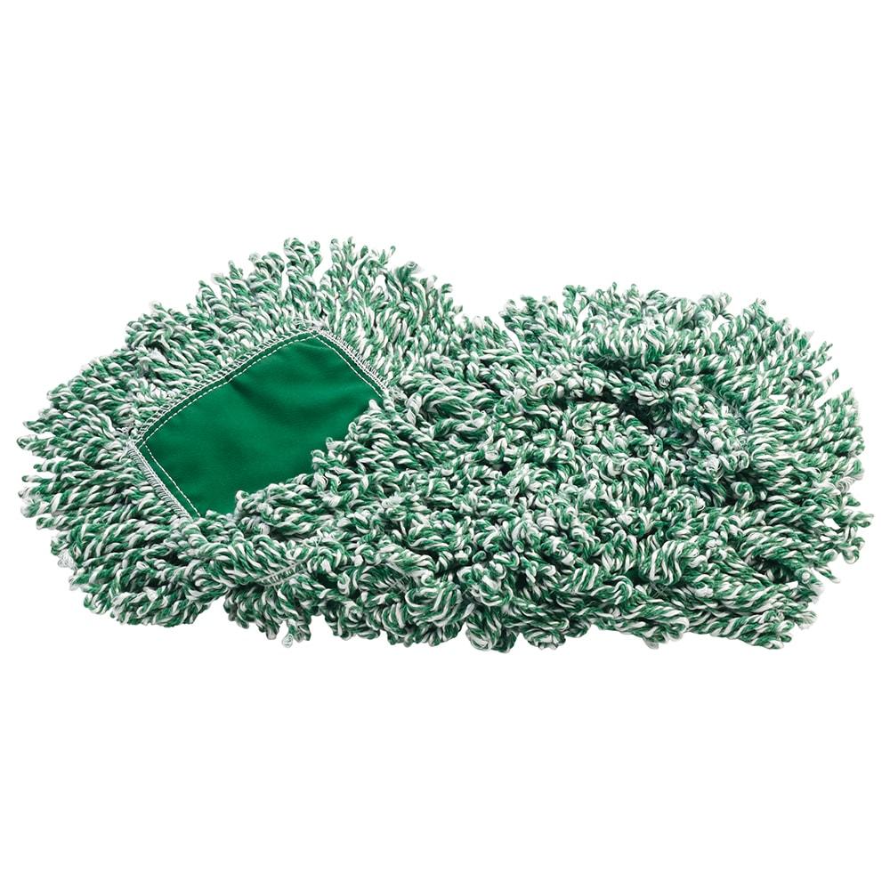 """Rubbermaid FGJ85200GR00 Dust Mop - 18x5"""" Looped-End, Microfiber, Green"""