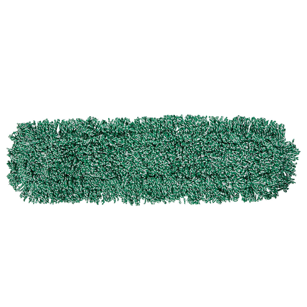 "Rubbermaid FGJ85500GR00 Dust Mop - 36x5"" Looped-End, Microfiber, Green"