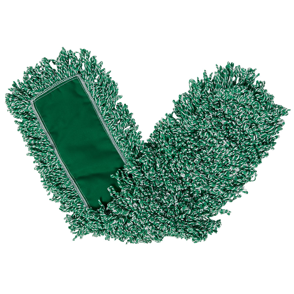 """Rubbermaid FGJ85700GR00 Dust Mop - 48x5"""" Looped-End, Microfiber, Green"""