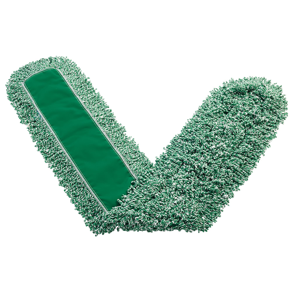 "Rubbermaid FGJ85800GR00 Dust Mop - 60x5"" Looped-End, Microfiber, Green"