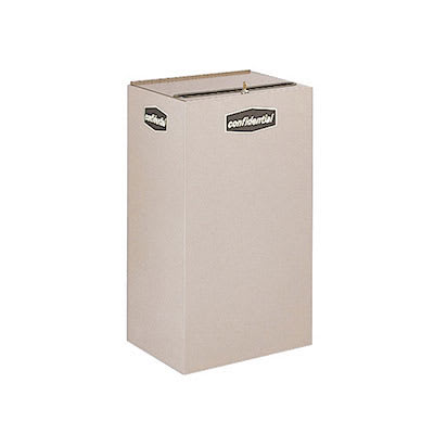 Rubbermaid FGNC30P10 28.5 gal Paper Recycle Bin - Indoor, Decorative