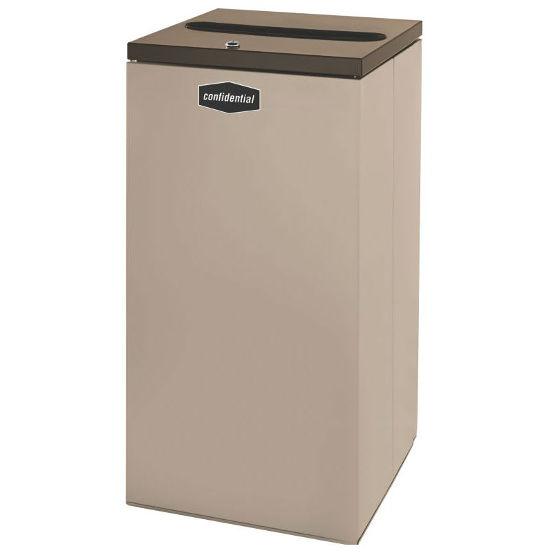 Rubbermaid FGNC30P11 28.5-gal Paper Recycle Bin - Indoor, Decorative