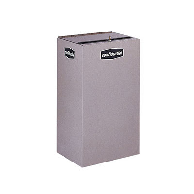 Rubbermaid FGNC30P11L 28.5 gal Paper Recycle Bin - Indoor, Decorative