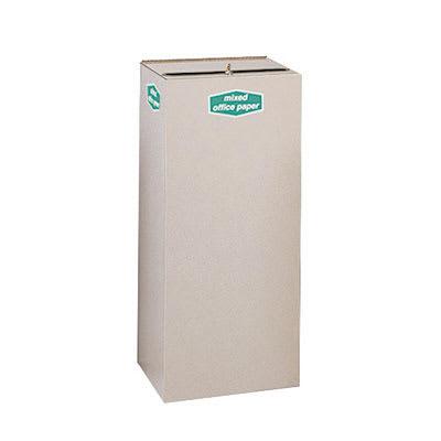 Rubbermaid FGNC36W5L 34.5-gal Paper Recycle Bin - Indoor, Decorative
