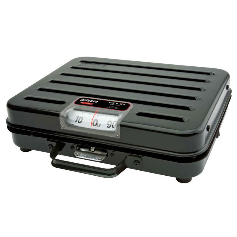 Rubbermaid FGP114S Pelouze Receiving Scale - Dial Type, Low Profile, 114-kg x 0.5-kg