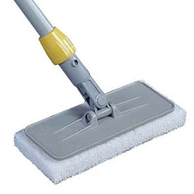 "Rubbermaid FGQ31100GRAY Upright Scrubber Pad Holder - 4x10"" Gray"