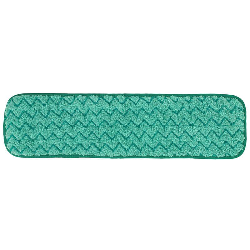 "Rubbermaid FGQ41200GR00 18"" Hygen Dry Room Pad - Microfiber, Green"