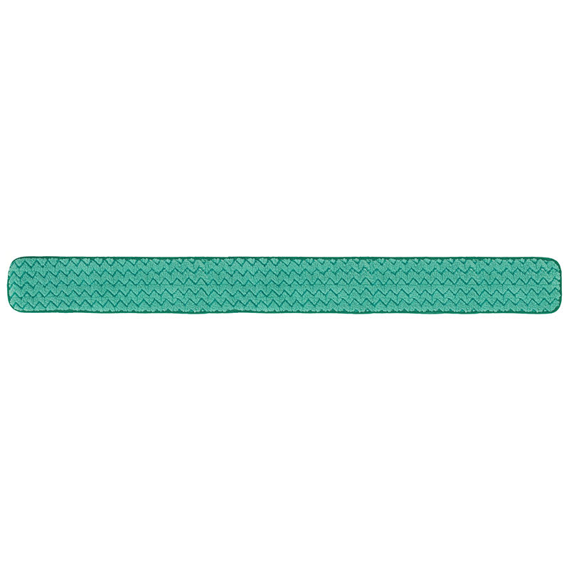 "Rubbermaid FGQ44800GR00 48"" Hygen Dry Hall Pad - Microfiber, Green"