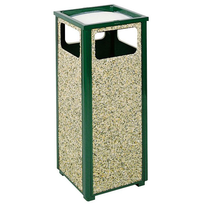 Rubbermaid FGR12SU202PL Trash Can Top Cigarette Receptacle - Outdoor Rated