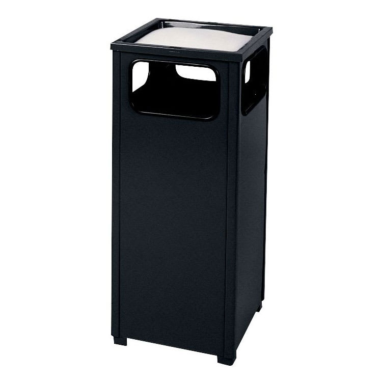 Rubbermaid FGR12SUSBKPL Trash Can Top Cigarette Receptacle - Outdoor Rated