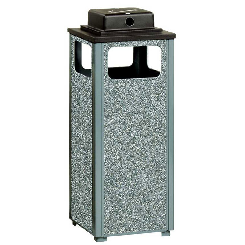 Rubbermaid FGR12WU2000PL Trash Can Top Cigarette Receptacle - Outdoor Rated