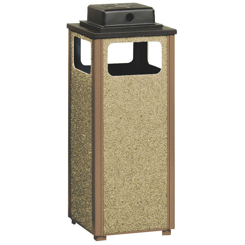 Rubbermaid FGR12WU201PL Trash Can Top Cigarette Receptacle - Outdoor Rated