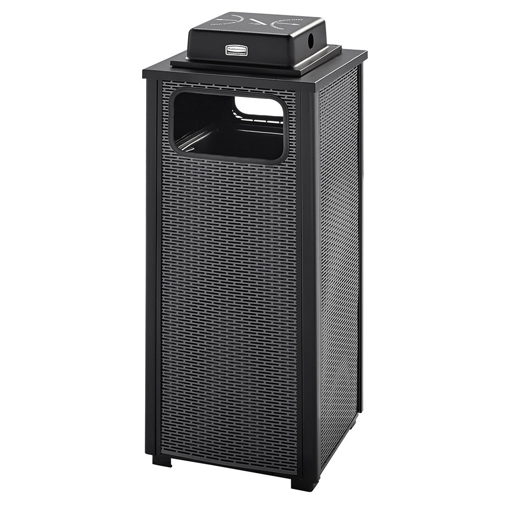 Rubbermaid FGR12WU500PL Trash Can Top Cigarette Receptacle - Outdoor Rated
