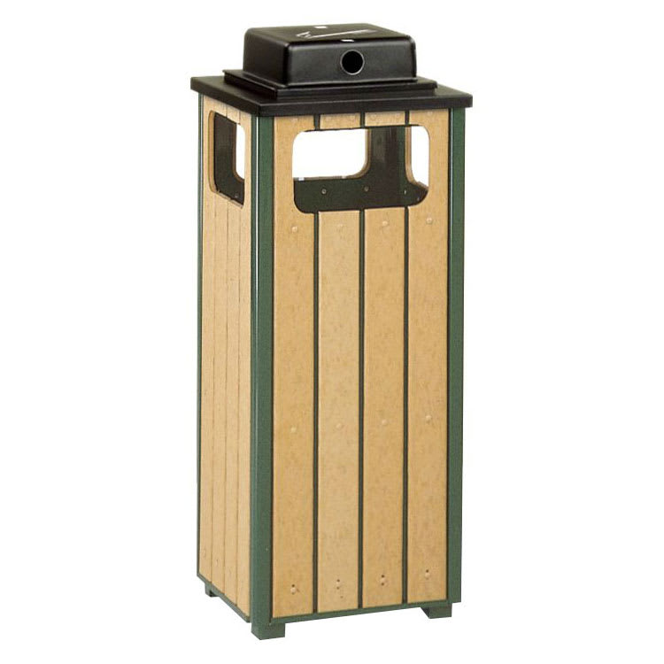 Rubbermaid FGR14WU50PLEGN Trash Can Top Cigarette Receptacle - Outdoor Rated