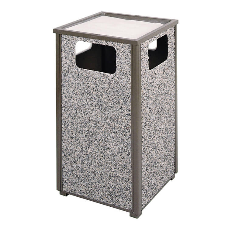 Rubbermaid FGR18SU2000PL Trash Can Top Cigarette Receptacle - Outdoor Rated