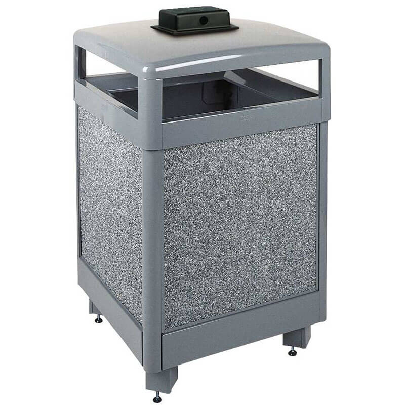 Rubbermaid FGR38HTWU2000PL Trash Can Top Cigarette Receptacle - Outdoor Rated