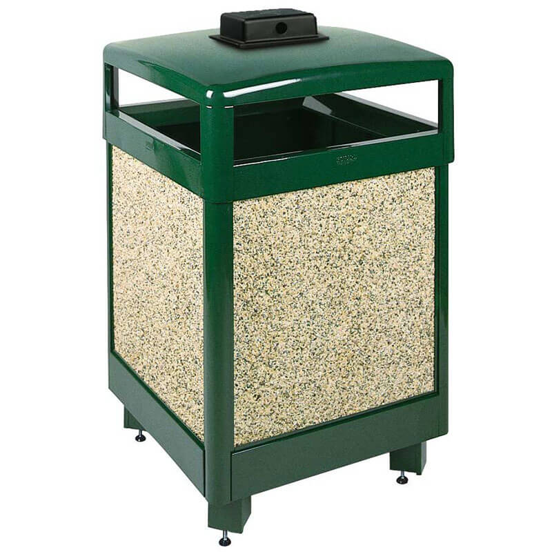 Rubbermaid FGR38HTWU202PL Trash Can Top Cigarette Receptacle - Outdoor Rated