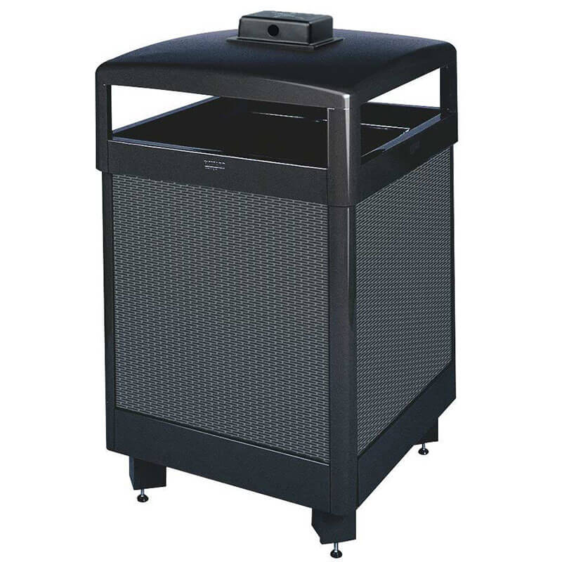 Rubbermaid FGR38HTWU500PL Trash Can Top Cigarette Receptacle - Outdoor Rated