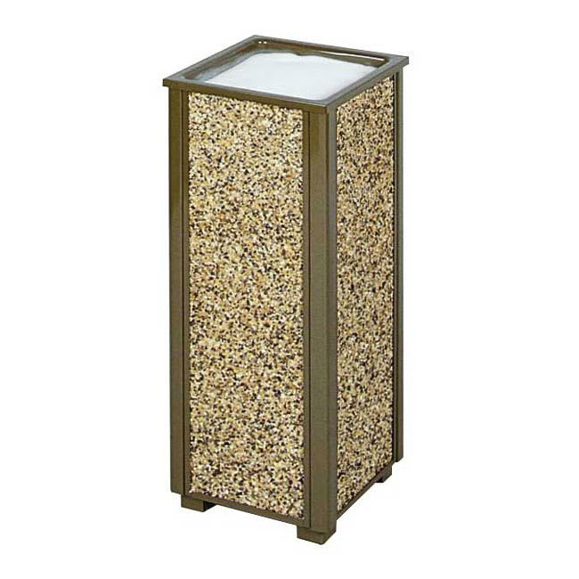 Rubbermaid FGR40201 Urn Cigarette Receptacle - Outdoor Rated
