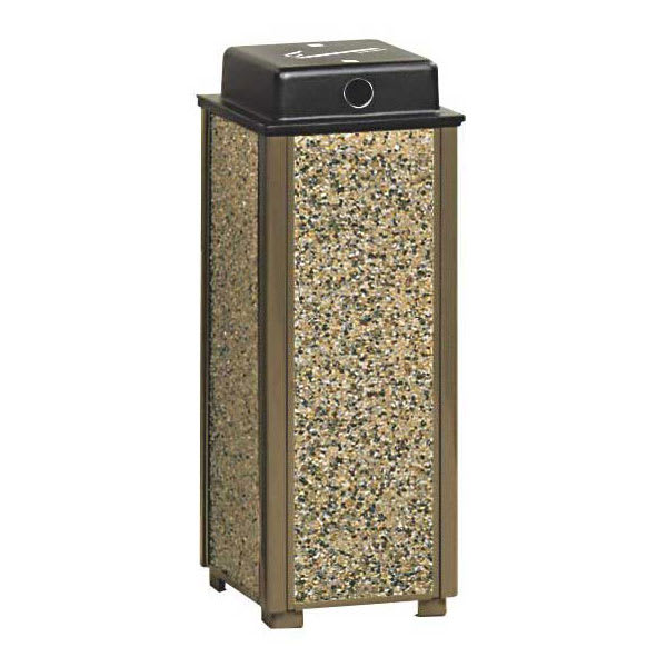 Rubbermaid FGR40WU201 Urn Cigarette Receptacle - Outdoor Rated