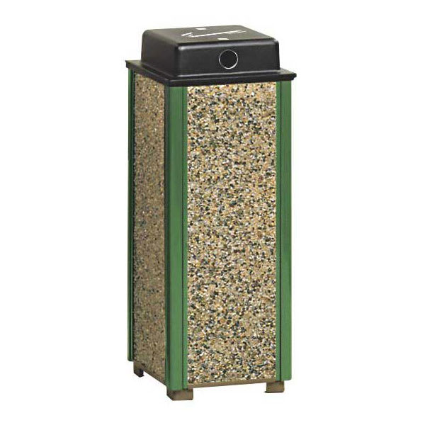Rubbermaid FGR40WU202 Urn Cigarette Receptacle - Outdoor Rated
