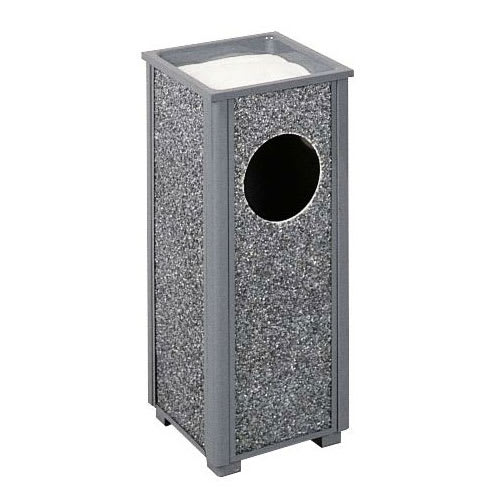 Rubbermaid FGR412000PL Trash Can Top Cigarette Receptacle - Outdoor Rated