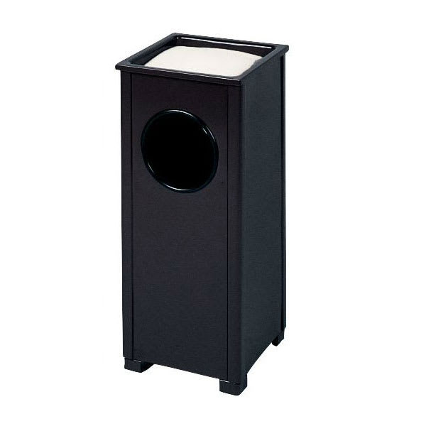 Rubbermaid FGR41SBKPL Trash Can Top Cigarette Receptacle - Outdoor Rated
