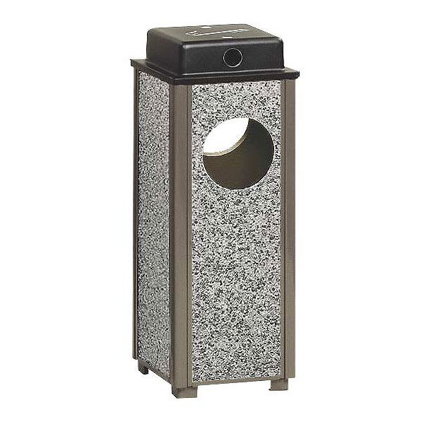 Rubbermaid FGR41WU6000PL Trash Can Top Cigarette Receptacle - Outdoor Rated